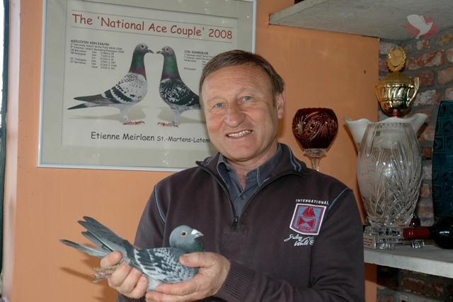 Meirlaen Etienne (B - Deurle - St Martens Latem) - Jonge duif 2021 op afspraak